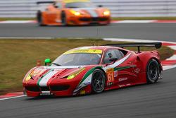 #61 AF Corse 法拉利 458 Italia: 布雷特·库尔蒂斯, 杰伦·布勒克莫伦, 迈克·斯基恩