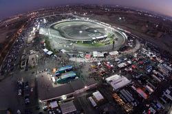 Vue générale du Irwindale Speedway