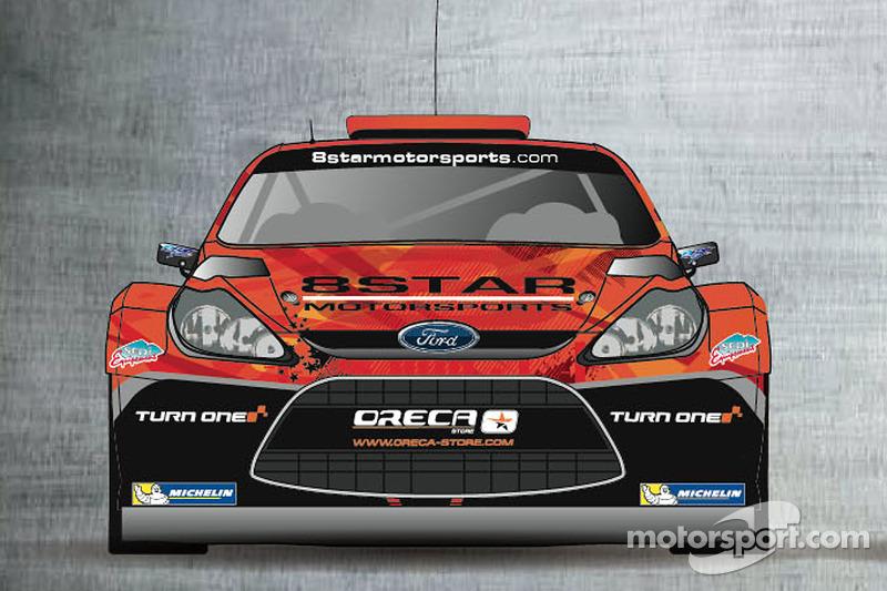 La livrea  8Star Motorsports e Oreca-Store.com.  Sarà guidata da Stéphane Sarrazin