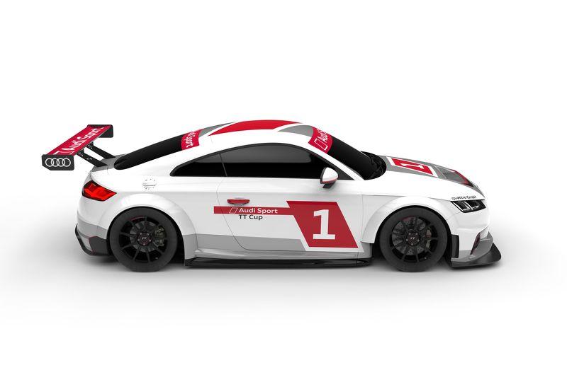 Presentación de la nueva serie de la Copa Audi TT