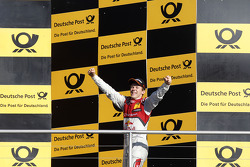 Ganador de la carrera Mattias Ekstrom, Audi Sport Team Abt Sportsline, Audi A5 DTM