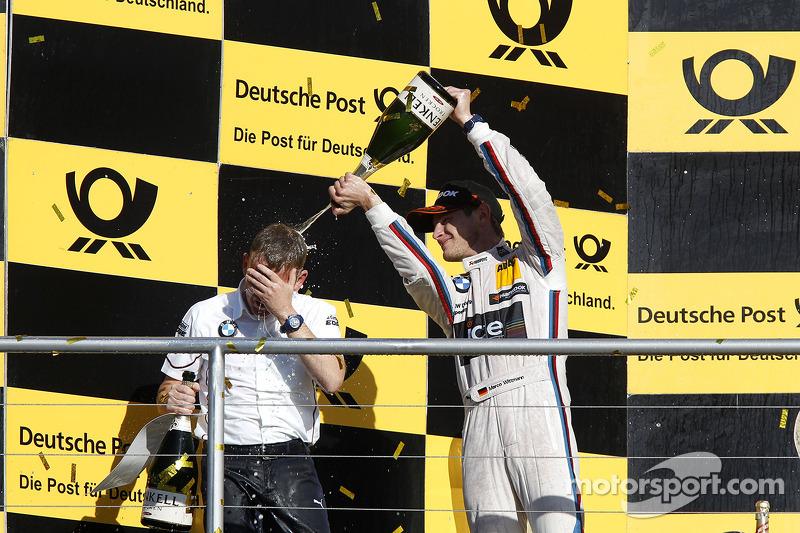 Campeonato Podio, Stefan Reinhold, BMW Team RMG y Marco Wittmann, BMW Team RMG BMW M4 DTM