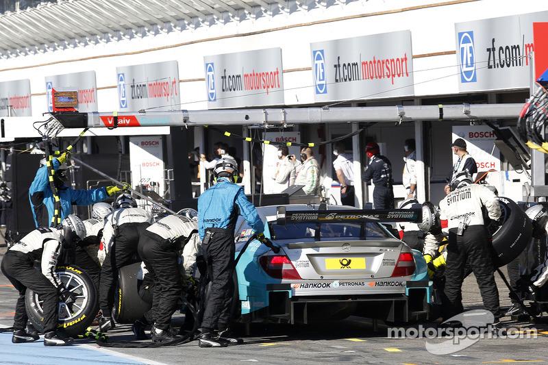 parada en pits de, Daniel Juncadella, Mercedes AMG DTM-Team Mucke DTM Mercedes AMG C-Coupe