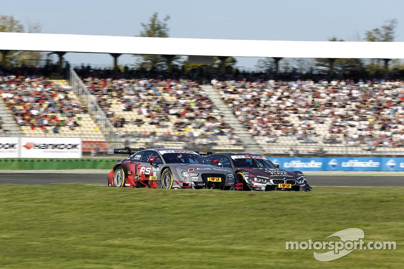 Edoardo Mortara, Audi Sport Takımı Abt Audi RS 5 DTM ve Joey Hand, BMW RBM Takımı BMW M4 DTM