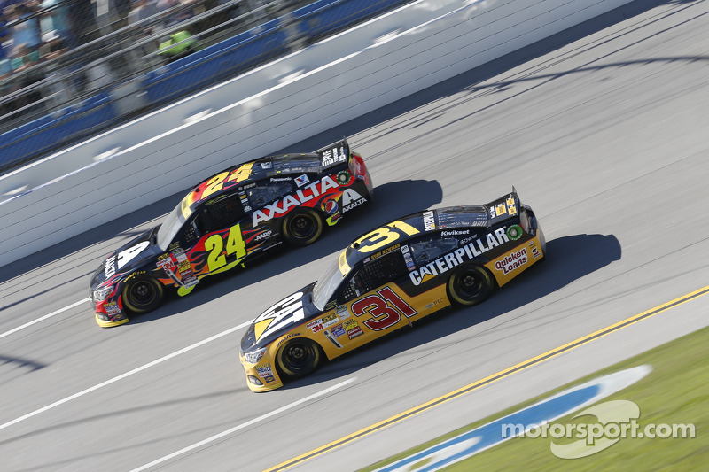 Jeff Gordon and Ryan Newman
