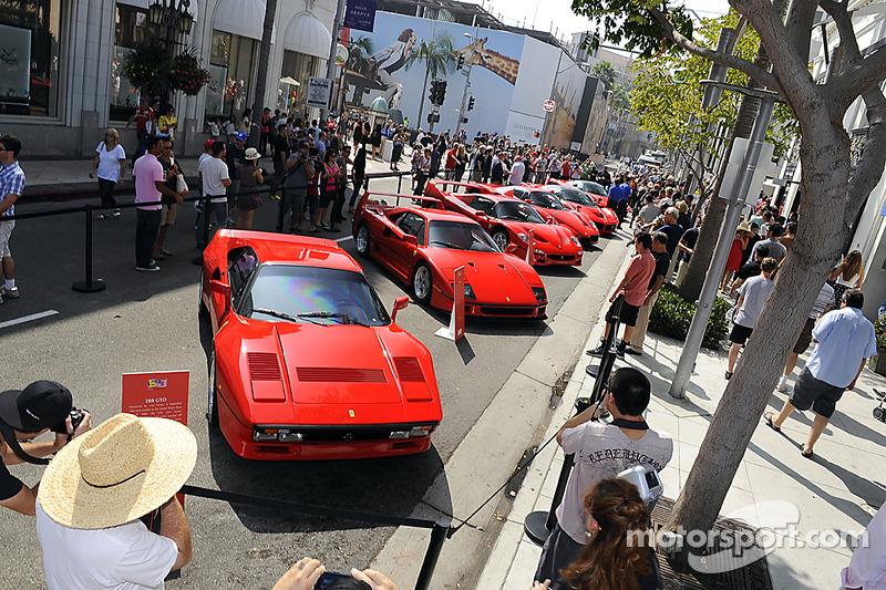 Ferrari Norteamérica celebración 60 aniversario en Beverly Hills