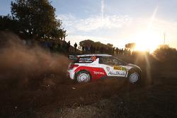 Khalid Al Qassimi y Chris Patterson, Citroën DS3