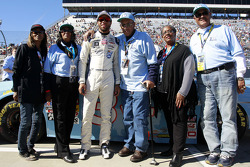Darrell Wallace Jr. ve Wendell Scott family
