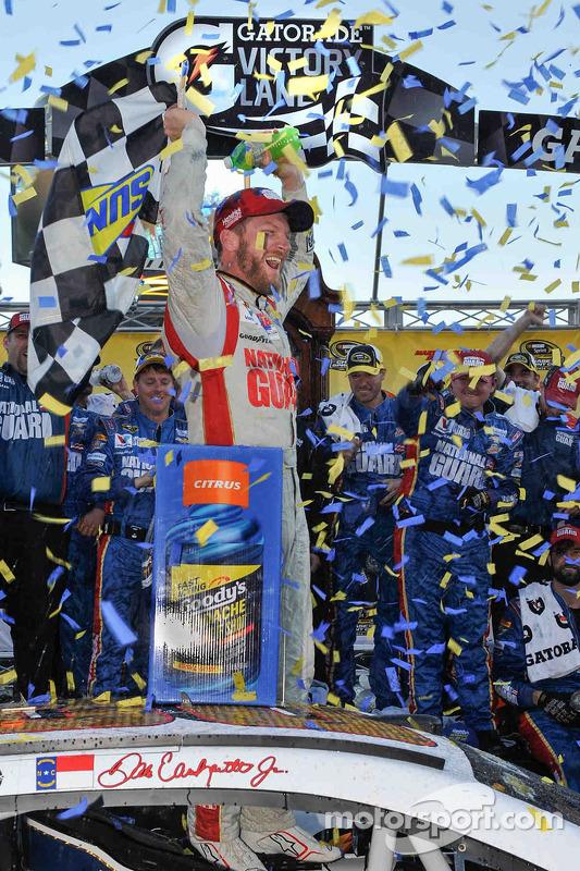 Vencedor corrida Dale Earnhardt Jr., Hendrick Motorsports Chevrolet