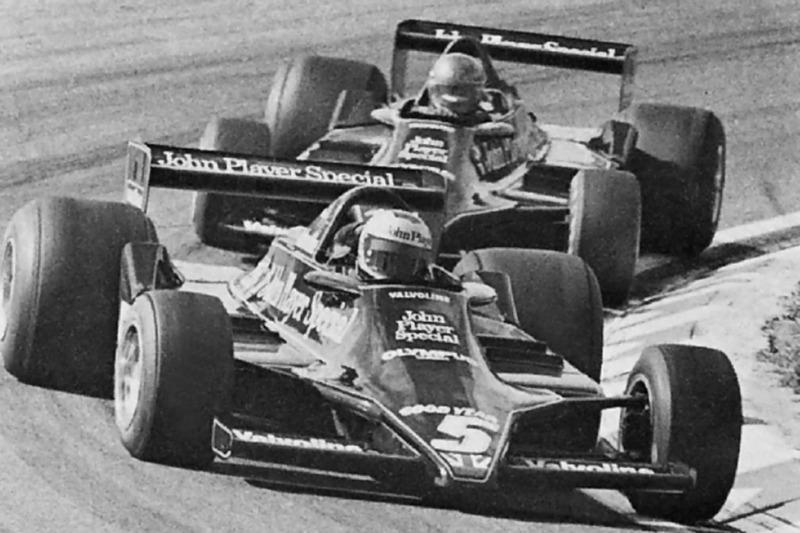 Mario Andretti lidera a Ronnie Peterson