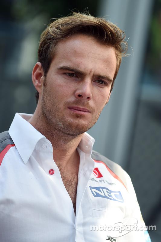 Giedo van der Garde, Terzo pilota Sauber F1