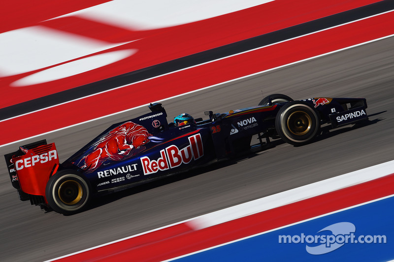 Toro Rosso : 2014-2015