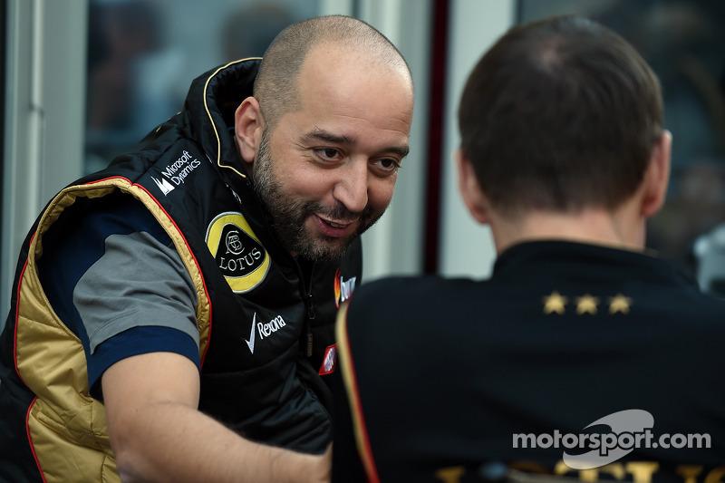 Gerard Lopez, Lotus F1 başkanı