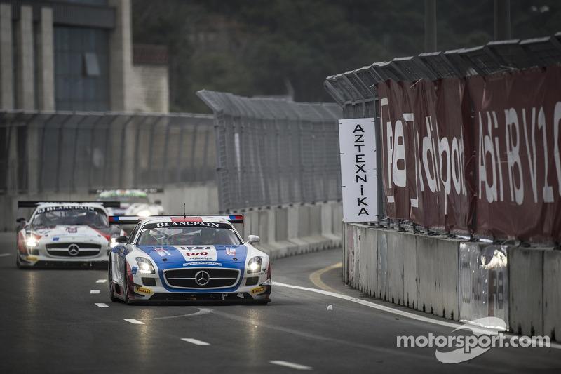 #177 GT Russian Team Mercedes SLS AMG GT3: Alexey Vasiliev, Marko Asmer