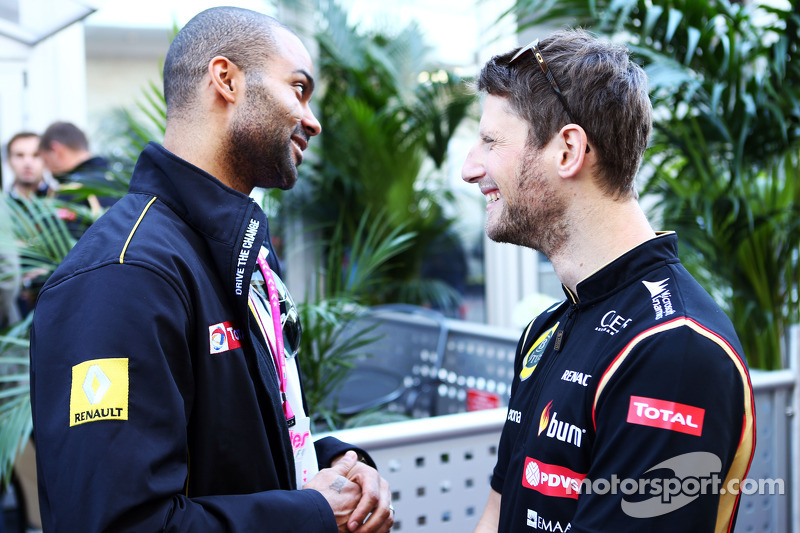 Tony Parker, NBA Basketball Player e Romain Grosjean