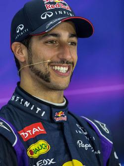 Daniel Ricciardo, Red Bull Racing na coletiva