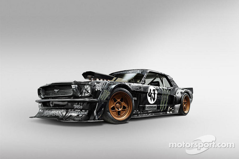 Ken Block'un en yeni Gymkhana aracı, modifiyeli Ford Mustang