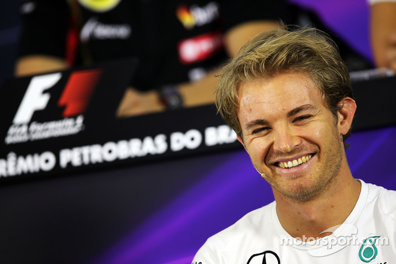 Nico Rosberg, Mercedes AMG F1 En la rueda de prensa de la FIA
