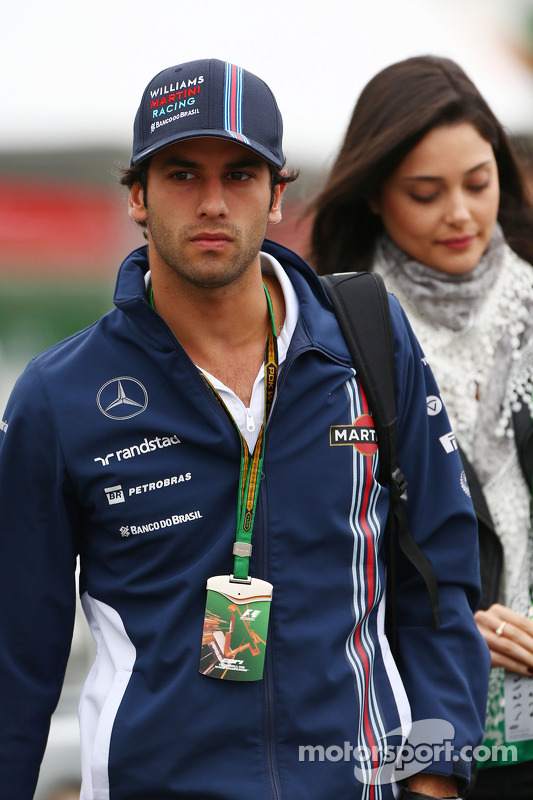 Felipe Nasr, Williams e Giulia Maria Testoni