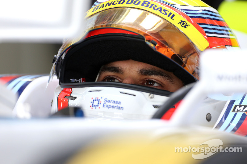 Felipe Nasr, third driver, Williams F1 Team 07