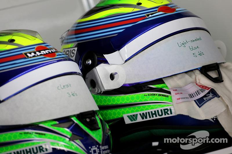 Caschi di Felipe Massa, Williams F1 Team 07