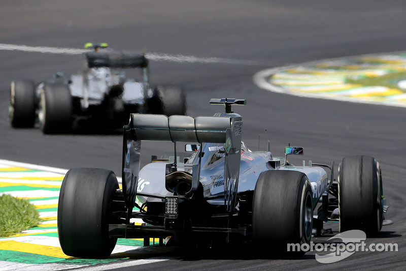 Lewis Hamilton, Mercedes AMG F1 Team y Nico Rosberg, Mercedes AMG F1 Team