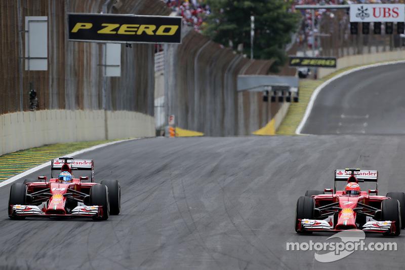 Fernando Alonso, Scuderia Ferrari ve Kimi Raikkonen, Scuderia Ferrari