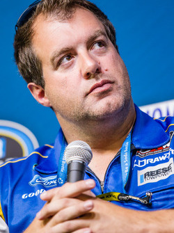 Press conference for the Nationwide Series and Camping World Truck Series: Chad Kendrick, crew chief for Ryan Blaney