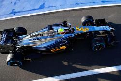 Oliver Turvey teste la McLaren-Honda
