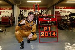 比赛获胜者 Felix Rosenqvist, Kashbet.com-Mücke Motorsport Dallara F312 梅赛德斯-HWA