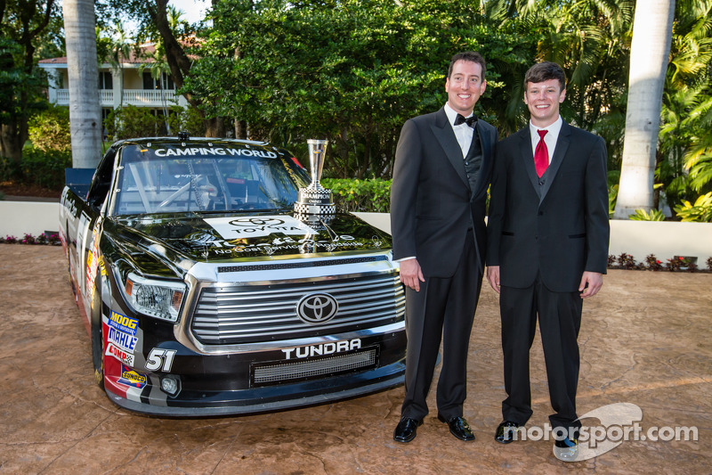 NASauto Camping World Truck Series, el dueño Kyle Busch con Erik Jones