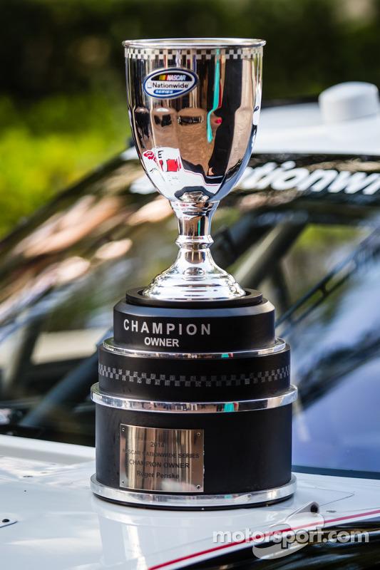 NASCAR Nationwide Series, troféu de campeão