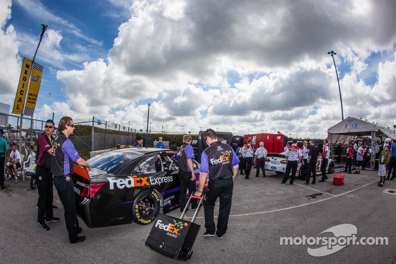 Voiture de Denny Hamlin, Joe Gibbs Racing Toyota