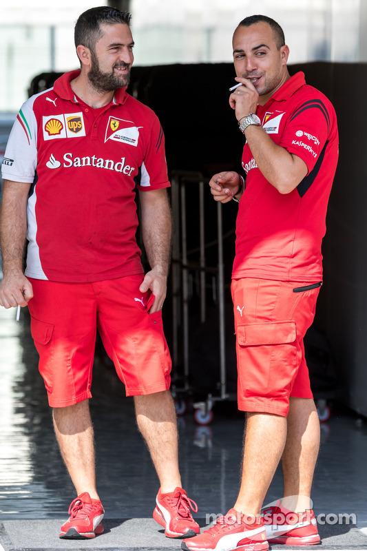 Ferrari mekanikerleri