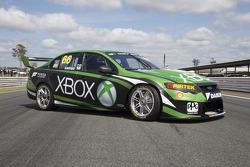 The car of Marcos Ambrose, Team Penske Ford