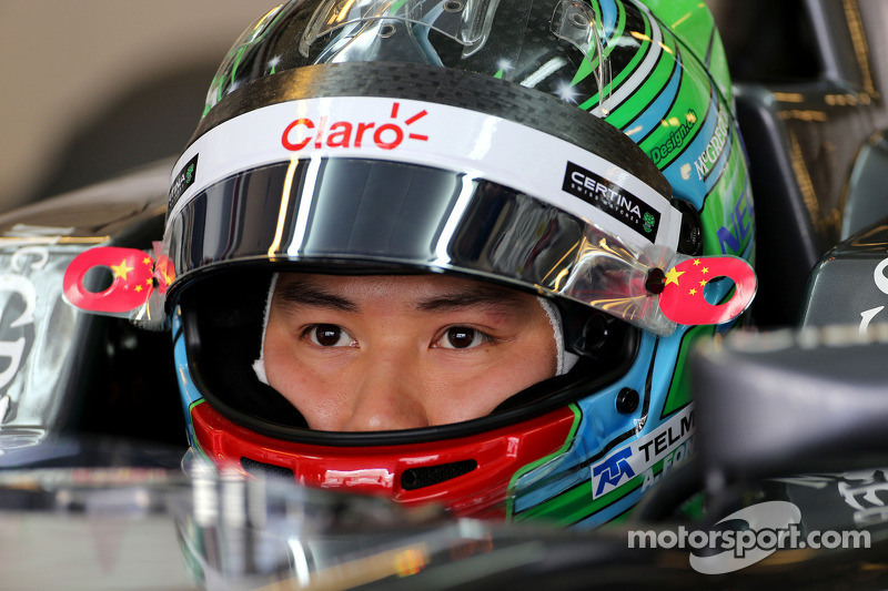 Adderly Fong, Sauber F1 Team, Testfahrer