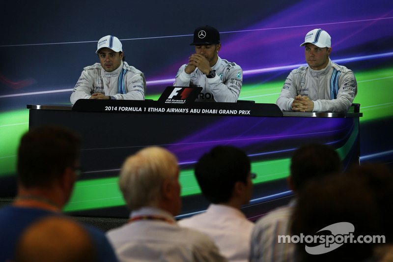 Conferencia post carrera: Felipe Massa, Williams, segundo; Lewis Hamilton, Mercedes AMG F1, el ganad