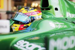 Rio Haryanto, pilota del team Caterham F1