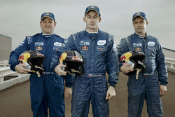 Andrey Aferin, Dmitry Sotnikov and Igor Devyatkin