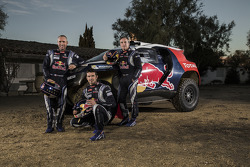 Stéphane Peterhansel, Cyril Despres, Carlos Sainz