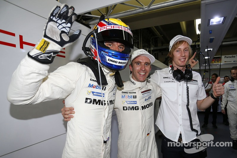 Timo Bernhard, Brendon Hartley, Mark Webber