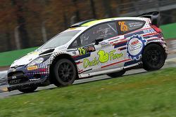 Gigi Galli ve Tamara Molinaro, Ford Fiesta WRC