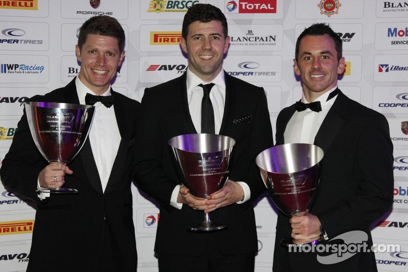 Segundos de la Blancpain Endurance Series Pro Cup: Guy Smith, Andy Meyrick, Steven Kane