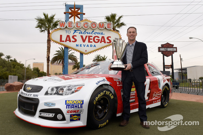 El campeón 2014 Kevin Harvick, Stewart-Haas Racing