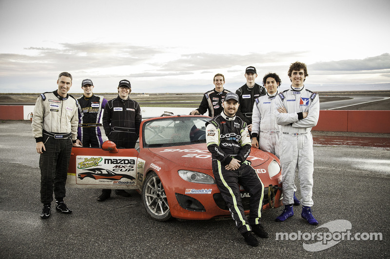 Gli otto finalisti del Mazda club racer shootout