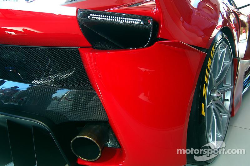 Ferrari FXX K detayı