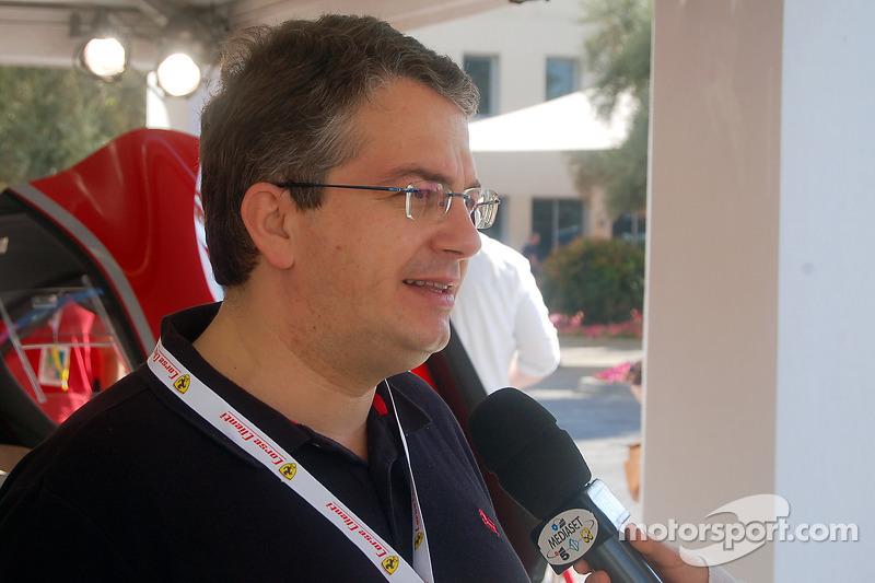Nicola Boari, Ferrari marketeng director