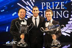 2014 WEC campeones Sebastien Buemi y Anthony Davidson