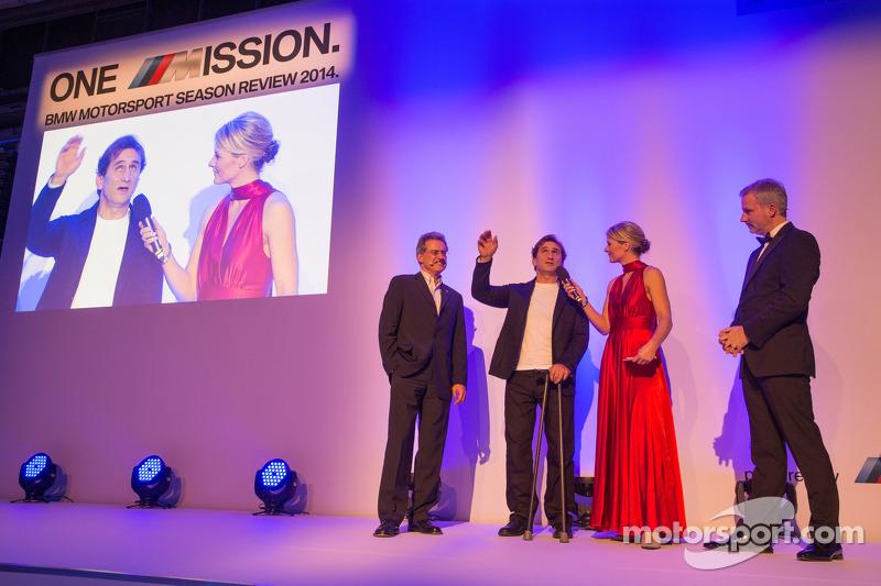 Dr. Mario Theissen, Alex Zanardi y Jens Marquardt