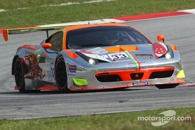 #33 Clearwater Racing 法拉利 458 GT3: 理查德·威, 马特·格里芬
